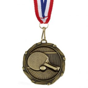Table Tennis Medals