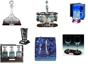 Glass & Full Cut Crystal For Engraving
