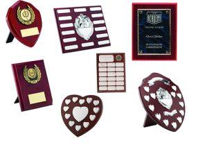 Wooden Shields & Plaques